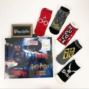 Harry Potter ankle socks NWOT -12 days of socks-